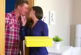 Dane Jones Cheating shadowy wife is fucked and creampied by plumber