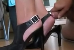 Amature cum on feet compilation - blowjobcamsonline.com