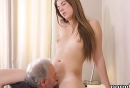 Cuddly schoolgirl is teased and fucked by her doyenne mentor