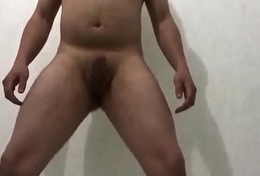 playing with my cock, spinning, firm with an increment of soft cock