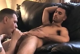 Straight Boy Paulie Cums Far Vinnie'_s Face