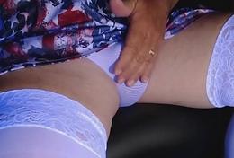 Caressing Soft White Trunks