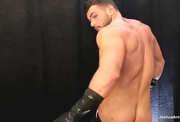 Daddy loves the latex gloves