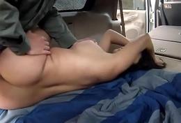 Fake taxi cop fucks unsubtle Stunning Mexican bungle Alejandra Leon
