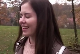 Dutch babe acquires pounded