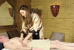 Masseuse coddle sixtynines