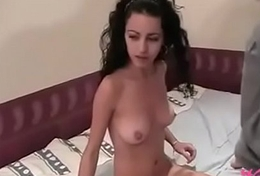 Dutch grandpapa fucking petite arab teen