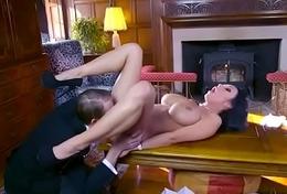 Hard Sex Action With Slut Cheating Hot Spliced (patty michova) clip-24