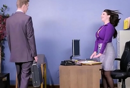 Big Tits going forward -  My Lustful Secretary chapter starring Angela Characterless and Markus Dupree