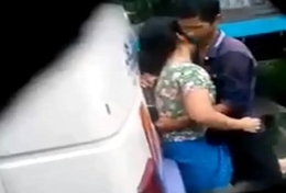 desi girl and chum sexual intercourse in bus fateful Caught on spy cam