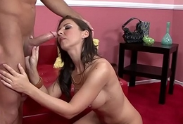 HumiliatedMilfs - Busty Brunette MILF returns the favor.