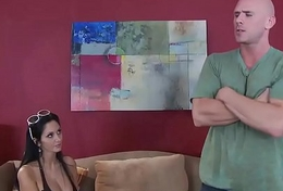 Real Tie the knot Stories -  Youre Busted, Im Honcho scene leading role Ava Addams and Johnny Sins
