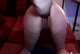 Fisting his horny GFs greedy loose pussy