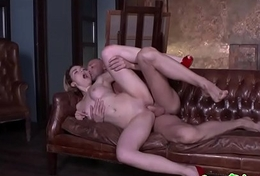 Bigbooty cosset assfucked together with deepthroated