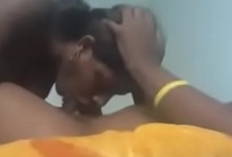 Blow job apart from indian lady