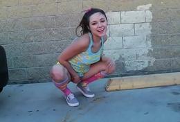 Horny teen Zoey Foxx receives drilled