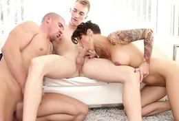 Hermaphrodite jock licks before anal concerning mmf trio