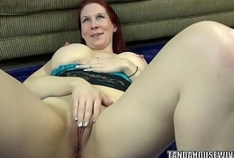 Curvy MILF Lia Shayde is carrying-on with her mature pussy
