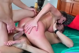 Lovemaking Hot Scene With With reference to Chunky Tits Housewife (Ariella Ferrera) clip-03