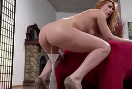 Eva Berger gets messy and pissy
