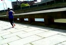 Big Booty Marissa Jogging