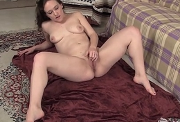 Yanks Cutie Lou Lebonne Plays With Their way Pussy