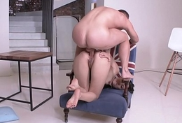FIRSTANALQUEST.COM - Oriental HAS HER FIRST ANAL WITH A Obese COCK GUY