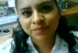 Latest Indian office copulation mms of hot secretary - Indian Porn Videos