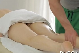 Grease someone's palm massage clip