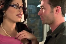 Big Tits at Move - You Fuck My Lady You Are Fired scene starring Bluebeard Cruz coupled with James Deen