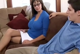 Beautiful mom with most assuredly nice body &amp_ alms-man Make less noise Stein