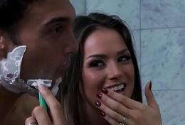 Positive Wife N -  Antithetic Slut Pt. 3 scene starring April O'_Neil  Rocco Reed