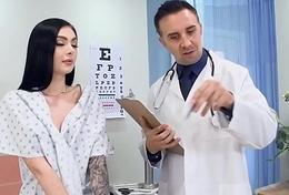 Doctor ADoctor Adventures -  Cunnilingus A ZZ Medical Study instalment starring Marley Brinx  Keiran Leed
