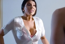 Dirty Masseur -  She'_s So Uptight But... scene starring Romi Rain  Xander Corvus