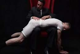MormonBoyz-Spanked and milked by hot older man concerning a suit