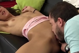 Dutch teenager cum faced