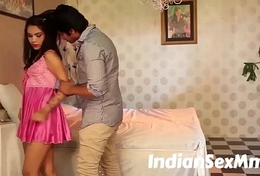 Charming Girl Romantic Moment Scene in Bed Room  (new)