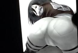 Mikasa Ackerman Cum Extort money from