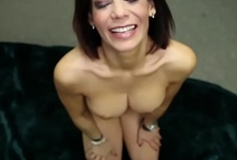 Gorgeous milf spastic cock and ill feeling snatch