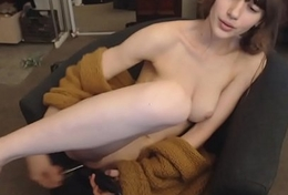 Incompetent brunette unaffected by webcam - Watch part2 unaffected by thecamgirls247.com