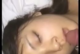 VU18.NET - Cum on the top of face asia cute girl sleeping