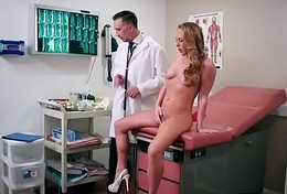 (Carter Cruise) Patient And Doctor In Hardcore Sex Adventures On Cam clip-11