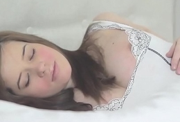 Pregnant, Naked with an increment of Masturbating in Bed!