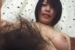 Subtitled Japanese bush-league naked body check pubic hair focus