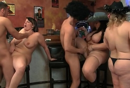 Wild group orgy in all directions well-known boobs bbw