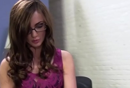 Psychiatrist Lily Carter Squirts On BBC