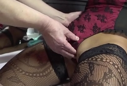 Real prozzie gets cumshot