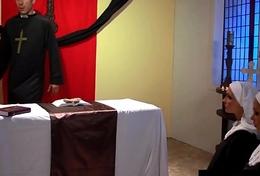 Penthouse Pet Nikki Benz &amp_ Jessica Jaymes Banged As Nuns!