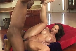 HumiliatedMilfs - Oiled up Kelly ready be useful to a big dismal cock.