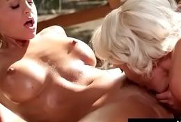 Gross lesbian sex, kissing, orgasms 18